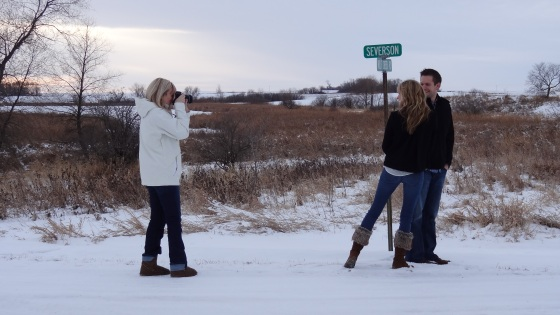 engagement shot 1 with Trina Severson